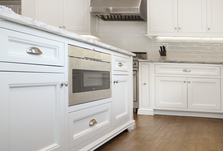 Center Island Integrated Microwave