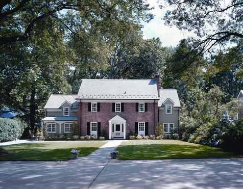 Red-Brick Colonial
