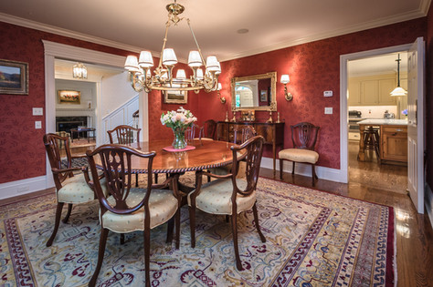 Formal Dining Room- Traditional Georgian Colonial