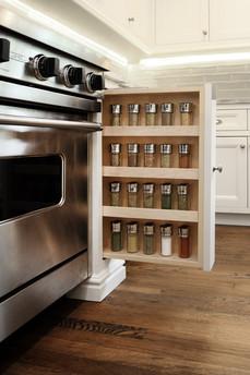 Built-in Spice Rack