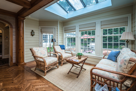 Sun Room - Traditional Georgian Colonial
