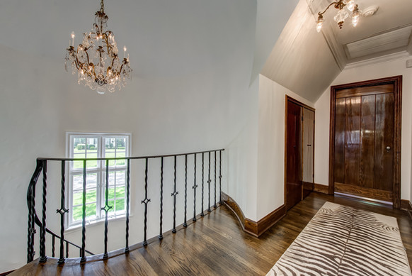 Stair Loft / Hall - French Normandy Tudor