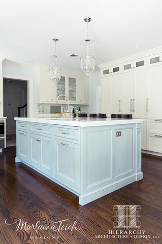 Kitchen - Move That Fireplace