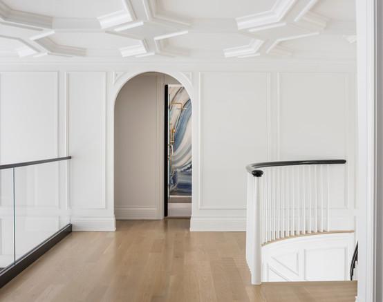 "Upstairs Loft/Hallway - Center Hall ""Glamonial"""