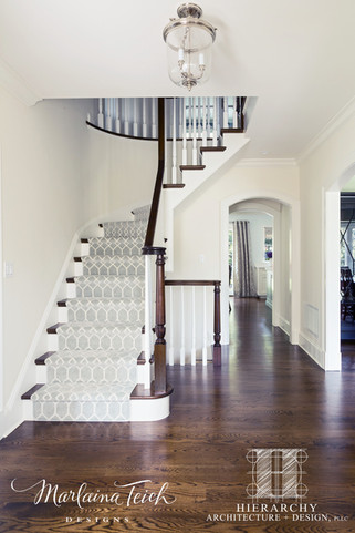 Front Entry/Staircase - Move That Fireplace