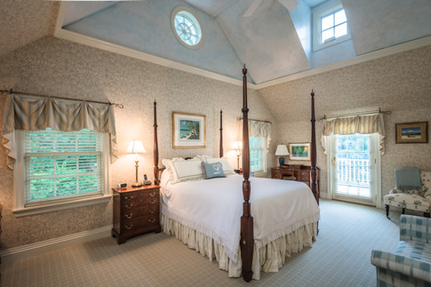 Master Bedroom- Traditional Georgian Colonial