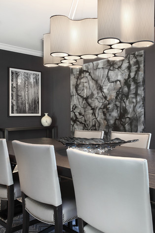 Contemporary Dining Room - The Park View