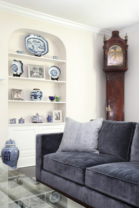Built-in Display Shelf - The Park View