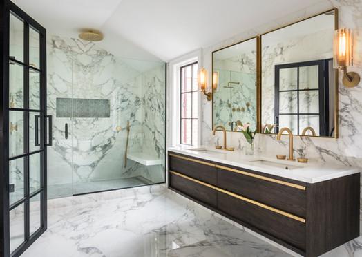 "Master Bathroom - Center Hall ""Glamonial"""
