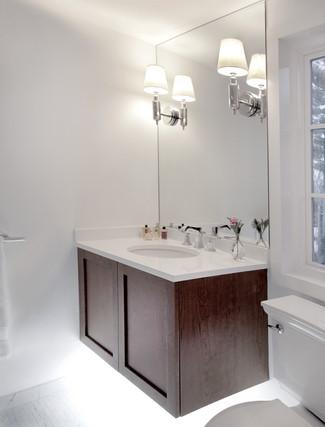 Contemporary Normandy Tudor Bathroom
