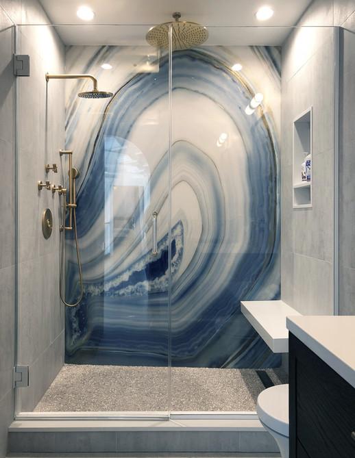 "Bathroom Shower - Center Hall ""Glamonial"""