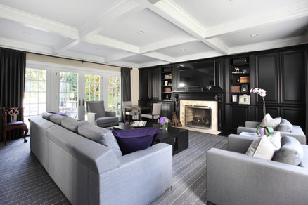 Contemporary Family Room - The Park View