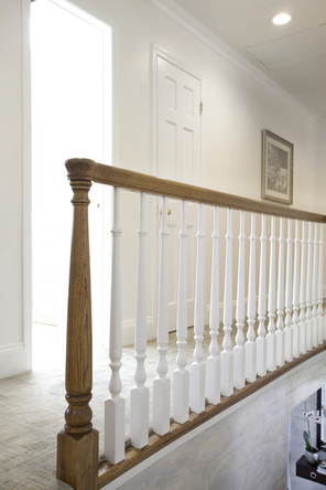 Custom Wood Handrail