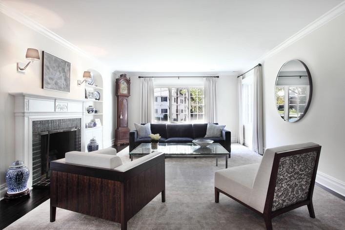 Contemporary Living Room - The Park View