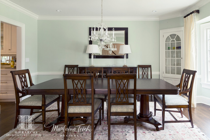 Dining Room - Move That Fireplace