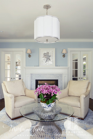 Formal Living Room - Move That Fireplace