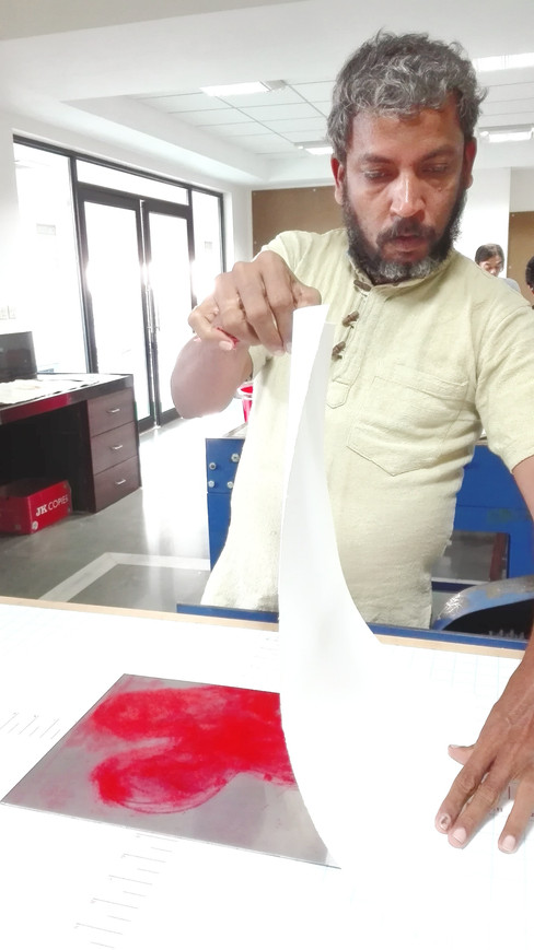 Viraji Naik Printmaker