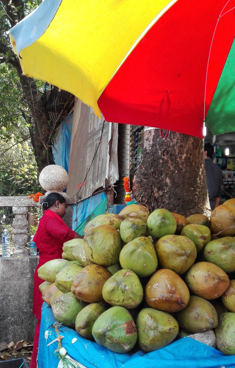Coconut stall