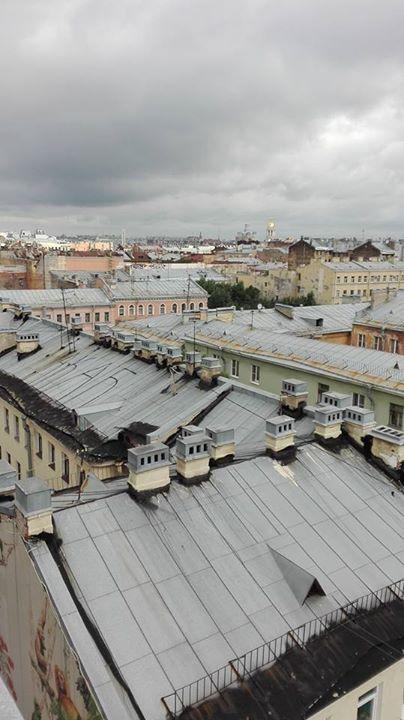 ETAJIからのサンクトペテルブルグ景