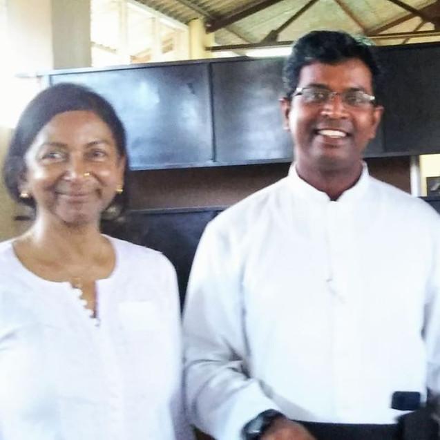 Representative dorini & Priests who provide the place