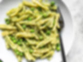 Parsley-Pesto-Pasta-with-Peas-plate-clos