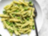 Parsley-Pesto-Pasta-with-Peas-plate-clos