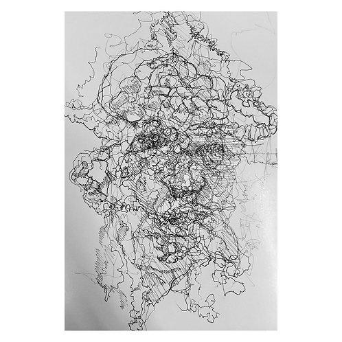 小峰力/HEAD drawing