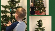Weihnachtsbaum schmücken im Esslinäscht
