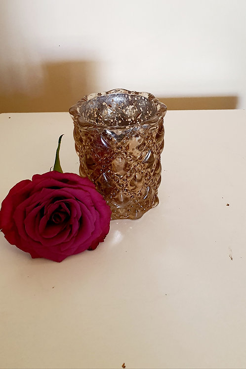 Gold Votive Tealight Holder