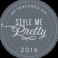 Style Me Pretty 2016 Logo