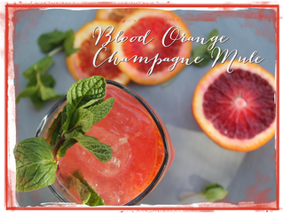 His & Hers Blood Orange Cocktail from Wine Country