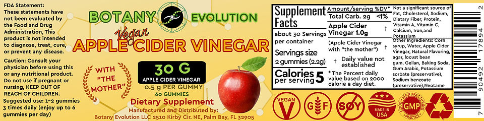 ACV GUMMY 1.5 in by 6in (750px by 3000px