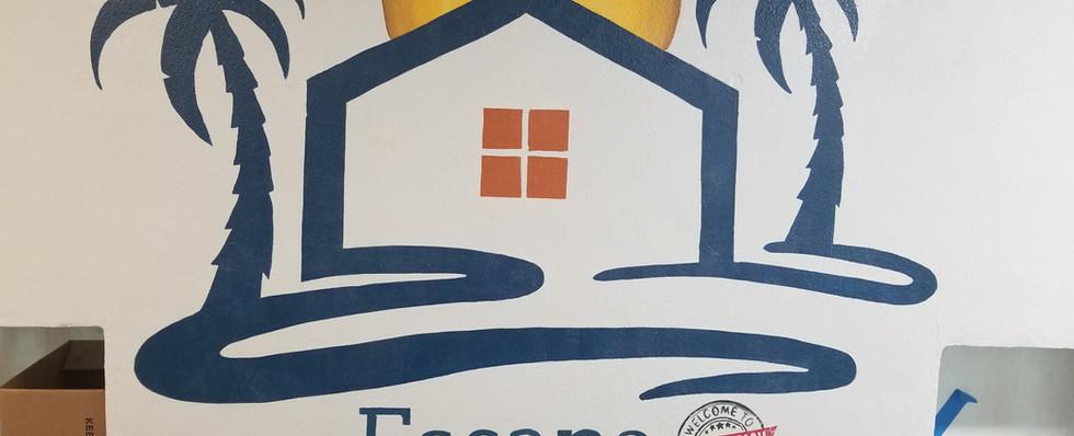 Escape Property Management Mural