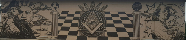 Masonic Lodge Mural