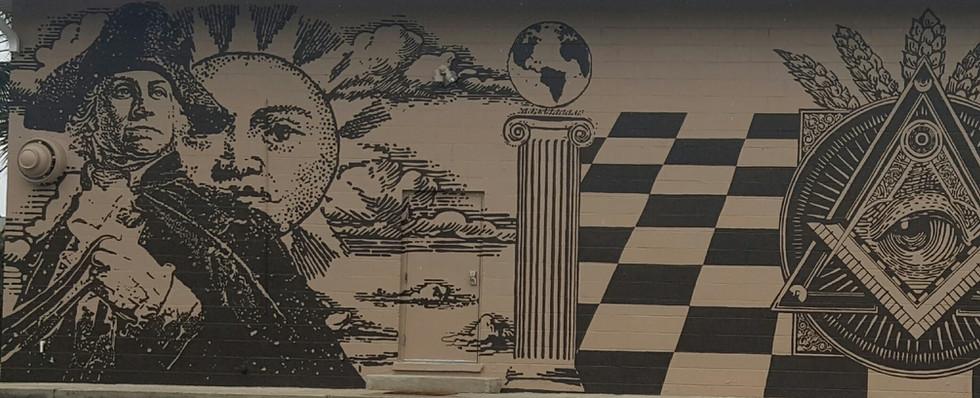 Masonic Lodge Mural