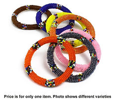 AFRICA IMP JS635 MAASAI BEADED BRACELETS