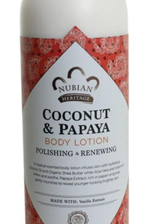 COCONUT & PAPAYA BODY LOTION