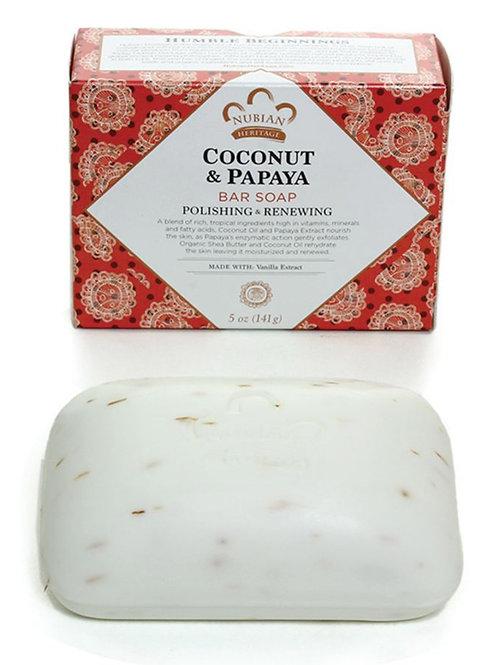 COCONUT & PAPAYA BAR SOAP