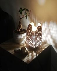 Confection lampe et accessoire de décora