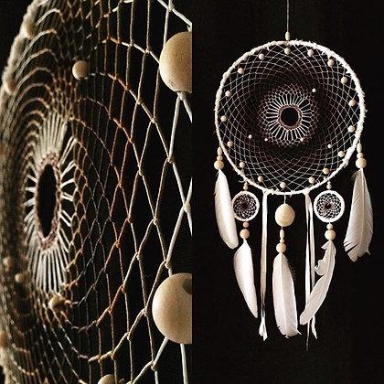 Dreamcatcher multicolore 3 anneaux