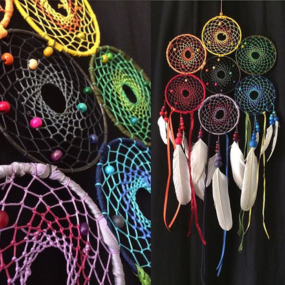 #dreamcatcher #rainbow #7chakras #gratit