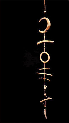 "Suspension Totem ""Moontribe"""
