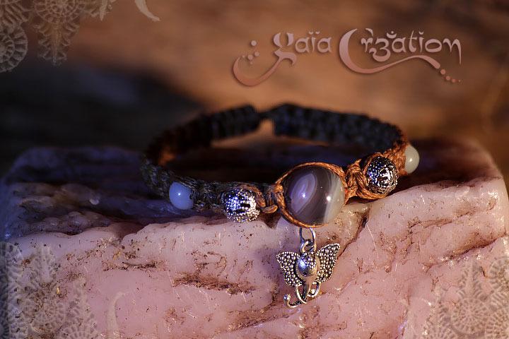 Bracelet shambala artisanal