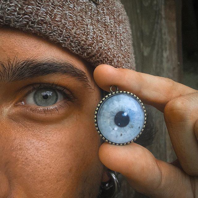 Pendentif personnalisé avec votre iris,