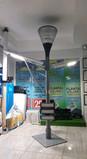 Exibicion Luminaria solar en tienda