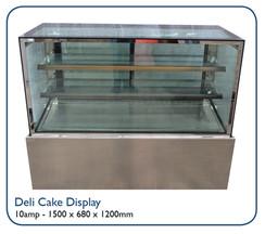 Deli Cake Display