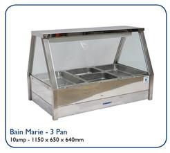 Bain Marie - 3 Pan