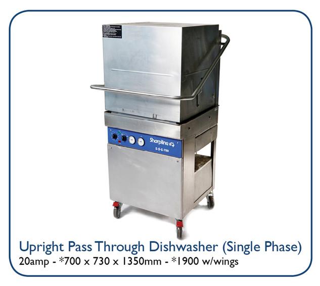 Upright Pass Through Dishwasher