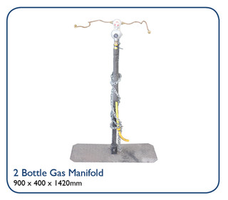 2 Bottle Gas Manifold