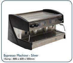 Espresso Machine - Silver